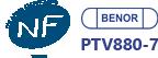 Certification NF Benor PTV880-7